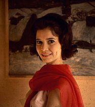 Marie-José Nat (1940-2019), French actress. © Roger-Viollet