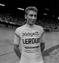 Jacques Anquetil (1934-1987), French racing cyclist. © Roger-Viollet