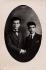 Missak Manouchian (on the left, 1906-1944), Armenian poet and resistance fighter, with his brother, Karapet Manouchian. © Archives Manouchian / Roger-Viollet
