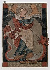 """Saint Michel terrassant le dragon"", sJean. Manuscrit enluminé de la fin du XIIIème siècle. © Ullstein Bild/Roger-Viollet"