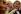 Mélanie Frean, assistante de Sotheby's met la dernière main à une des deux Margaret Thatcher, marionnettes mises en vente lors de la prochaine vente aux enchères le 29 novembre. Grande-Bretagne, 23 novembre 2001. © Geoff Caddick / TopFoto / Roger-Viollet