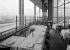 The Eiffel Tower. Terrace of the restaurant with a view on the river Seine. Paris (VIIth arrondissement). Photograph by René Giton (known as René-Jacques, 1908-2003). Bibliothèque historique de la Ville de Paris. © René-Jacques / BHVP / Roger-Viollet