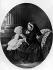 """La reine Victoria (1819-1901) et le prince Albert Victor de Galles (1864-1892)"". Illustration. © TopFoto/Roger-Viollet"