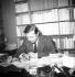 Jean-Paul Sartre (1905-1980), écrivain et philosophe français. Paris. © Roger-Viollet