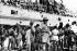 """Guerre d'Indochine. Arrivée du """"Cap Saint-Jacques"""" à Saïgon (Viêtnam) avec des Français chassés par les Japonais pendant l'occupation de l'Indochine. Mars 1946. © Roger-Viollet"""