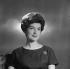 Mady Mesplé (1931-2020), French opera singer. Paris, October 1960. © Boris Lipnitzki / Roger-Viollet