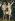 """Lucas Cranach l'Ancien (1472-1553). """"Adam et Eve"""". Huile sur bois, 1538. Prague (République Tchèque), galerie nationale. © Iberfoto / Roger-Viollet"""