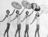 Femmes en maillots de bain. Etats-Unis, 1956. © Ullstein Bild/Roger-Viollet