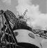 The Eiffel Tower. Paris (VIIth arrondissement), 1950. © Roger-Viollet