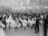 Paris (XVIIIème arr.). Le bal du Moulin-Rouge. 1900. © Collection Roger-Viollet/Roger-Viollet