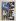 """Ossip Zadkine (1890-1967). """"L'homme à la fleur"""". Gouache sur papier vélin, s.d.b.g. : O. Zadkine 61. Paris, musée Zadkine.  © Musée Zadkine/Roger-Viollet"""