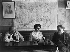 Russian emigration. Hertzen library in Nice, about 1920.. Photo Choumov. © Pierre Choumoff / Roger-Viollet