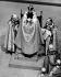 Couronnement de la reine Elisabeth II (née en 1926) dans l'abbaye de Westminster. Londres (Angleterre), 2 juin 1953. © TopFoto/Roger-Viollet