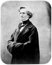 Hector Berlioz (1803-1869), French composer. Photography of Nadar. © Roger-Viollet