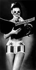 Sous-vêtement pop art. New-York (Etats-Unis), 27 août 1965. © TopFoto / Roger-Viollet