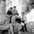 Maria Casarès, Monique Chaumette, Jean Vilar et Georges Lycan. Festival d'Avignon, juillet 1954. © Studio Lipnitzki/Roger-Viollet