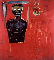 Jean-Michel Basquiat (1960-1988). Untitled. Acrylic on canvas, 1984. Private collection. © TCDL / The Image Works / Roger-Viollet