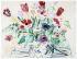 """Raoul Dufy (1877-1953). """"Anémones et tulipes"""". Aquarelle et gouache sur papier vélin d''Arches, 1942. Paris, musée d''Art moderne. © Musée d'Art Moderne/Roger-Viollet"""