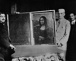 Affaire du vol de la Joconde. Le tableau retrouvé à Florence et prêt à revenir en France. 1913. © Roger-Viollet