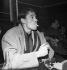 Jacques Brel (1929-1978), chanteur et auteur-compositeur belge. Paris, 1961. © Roger-Viollet