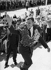 Youri Gagarine (1934-1968), cosmonaute russe, lors du festival mondial de la jeunesse à Helsinki. Finlande, 1962. © Ullstein Bild/Roger-Viollet