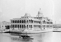 The building of the Suez Canal Company. Port Said (Egypt), around 1890-1900. © Roger-Viollet