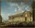 Pierre-Antoine Demachy (1723-1807). The Perrault's Colonnade (or Colonnade du Louvre), after being cleared, circa 1773. Paris, musée Carnavalet. © Musée Carnavalet / Roger-Viollet