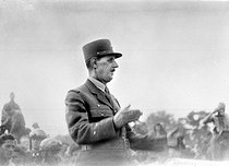 World War II. Charles de Gaulle (1890-1970), French General, August 1944. © Roger-Viollet