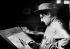 Jean-Louis Forain (1852-1931), French painter, at work. © Albert Harlingue/Roger-Viollet