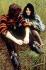 John Lennon (1940-1970), chanteur anglais et Yoko Ono (née en 1933), artiste japonaise. © TopFoto / Roger-Viollet