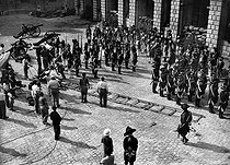 "Shooting of ""La Marseillaise"" by Jean Renoir.  France, 1938.      © LAPI / Roger-Viollet"