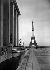 Le parvis du Palais de Chaillot et la Tour Eiffel. Paris (XVIème et VIIème arr.). Photographie de René Giton dit René-Jacques (1908-2003). Bibliothèque historique de la Ville de Paris. © René-Jacques / BHVP / Roger-Viollet