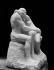 """Auguste Rodin (1840-1917). """"Le Baiser"""". Paris, musée du Luxembourg. © Léopold Mercier/Roger-Viollet"""