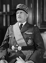 Paul Dassault (1882-1969), French General, 1949. © Roger-Viollet