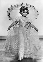 Shirley Temple (1928-2014), actrice américaine. 1936. © Ullstein Bild/Roger-Viollet