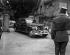Conférence de Genève sur l'Indochine. Arrivée de Chou En-laï (Zhou Enlai), ministre chinois des Affaires étrangères, à la villa d'Anthony Eden, secrétaire au Foreign Office. 18 juillet 1954. © Roger-Viollet