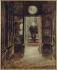 """Georges Hugo (1868-1925). """"Victor Hugo descendant le look-out à Hauteville House"""". Huile sur toile. Paris, Maison de Victor Hugo. © Maisons de Victor Hugo / Roger-Viollet"""