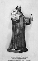 Dom Pierre Pérignon (1638-1715), French Benedictine monk at the Hautvilliers abbey and inventor of sparkling champagne. © Collection Roger-Viollet / Roger-Viollet