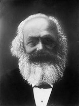 Karl Marx (1818-1883), German theoretician, philosopher and revolutionary. © Roger-Viollet