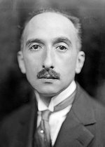 François Mauriac (1885-1970), French writer. France, about 1930. © Henri Martinie / Roger-Viollet