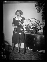 Dame Gracie Fields (1898-1979), de son vrai nom Grace Stansfield, chanteuse et actrice de music-hall et de cinéma britanno-italienne. Paris, 15 avril 1940.  © Excelsior - L'Equipe / Roger-Viollet