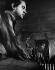Francis Bacon (1909-1992), peintre irlandais, 1971.  © Jorge Lewinski/TopFoto/Roger-Viollet