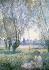 """Claude Monet (1840-1926). """"Femme assise sous les saules"""". Huile sur toile, 1880. Washington (Etats-Unis), National Gallery of Art. © Iberfoto / Roger-Viollet"""