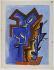 """Ossip Zadkine (1890-1967). """"Premier signe printanier"""". Gouache et graphite sur papier vélin, s.d.b.d : O. Zadkine 62. 1962. Paris, musée Zadkine.  © Musée Zadkine/Roger-Viollet"""