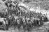 Milices pourchassant les contre-révolutionnaires dans le centre du pays. Cuba, années 1960. © Gilberto Ante/Roger-Viollet