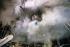 Lebanese Civil War (1975-1990). Rescuers at work after a car bombing attack in the Western district of Beirut (Lebanon), November 1983. © Françoise Demulder / Roger-Viollet
