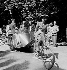 World War II. Elegance day in Paris, June 1942. © Laure Albin Guillot / Roger-Viollet