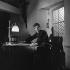 """Léon Morin, prêtre"", film de Jean-Pierre Melville. Jean-Paul Belmondo. France, 1961. © Alain Adler / Roger-Viollet"