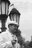 Georges Simenon, écrivain belge. © Toscani / Alinari / Roger-Viollet