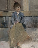 "Antoine Bourdelle (1861-1929).  ""Cécile Sorel enfant"". Huile sur toile. Paris, musée Bourdelle.     © Musée Bourdelle/Roger-Viollet"